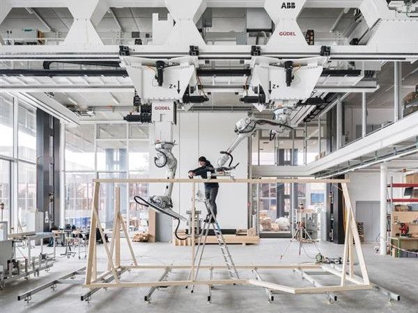 В Швейцарии открывается напечатанный на 3D-принтере дом DFAB HOUSE