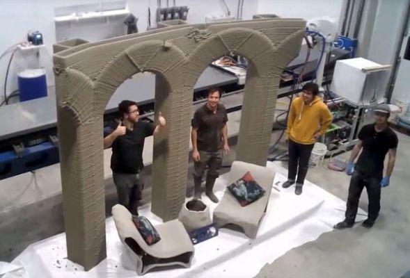 Бетон для 3д печати купить купить цемент в москве в розницу